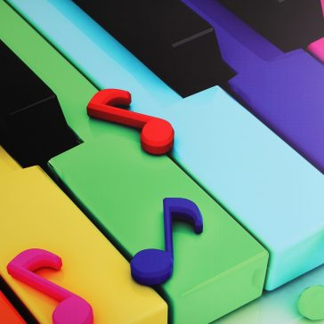 Piano Lessons Cahaba Heights - Piano Lessons Learning Syles Colorful Piano