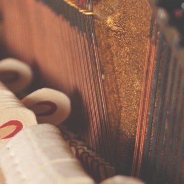 Piano Lessons in Vestavia - Acoustic Piano Inside